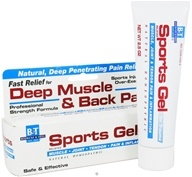 Boericke & Tafel - Sports Gel - 2.5 oz., from category: Homeopathy