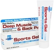 Boericke & Tafel - Sports Gel - 2.5 oz. CLEARANCE PRICED