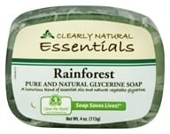 Image of Clearly Natural - Glycerine Soap Bar Rainforest - 4 oz.