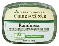 Clearly Natural - Glycerine Soap Bar Rainforest - 4 oz. by Clearly Natural