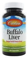 Image of Carlson Labs - Buffalo Liver 500 mg. - 60 Capsules