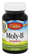 Image of Carlson Labs - Moly-B Molybdenum 500 mcg. - 300 Tablets