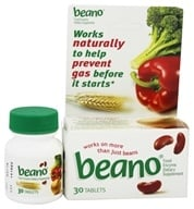 Beano - Food Enzyme - 30 Tablets (042037103040)