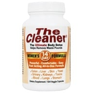 Century Systems - The Cleaner Women's 14-Day Formula - 104 Capsules, from category: Detoxification & Cleansing