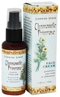 Image of Common Sense Farm - Chamomile Primrose Face Cream - 1.7 oz.