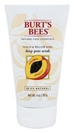 Image of Burt's Bees - Deep Pore Scrub Peach & Willowbark - 4 oz.