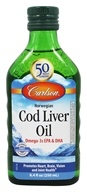 Carlson Labs - Norwegian Cod Liver Oil Regular Flavor - 8.4 oz. (088395013218)