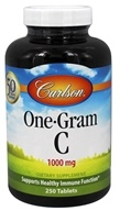 Carlson Labs - One-Gram C Vitamin C 1000 mg. - 250 Tablets (088395033025)