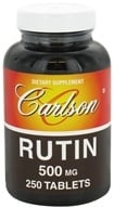 Carlson Labs - Rutin 500 mg. - 250 Tablets, from category: Nutritional Supplements