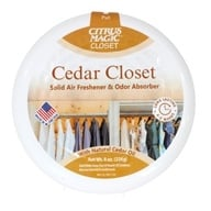 Citrus Magic - Solid Air Freshener Cedar Magic - 8 oz. by Citrus Magic