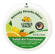 Citrus Magic - Solid Air Freshener Odor Absorbing Fresh Citrus - 8 oz. (087052712792)