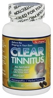 Clear Products - Clear Tinnitus Homeopathic/Herbal Relief Formula - 60 Capsules by Clear Products