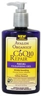 Avalon Organics - CoQ10 Repair Facial Cleansing Gel - 8.5 oz. (Formerly Cellular Renewing Wrinkle Defense Enzyme Skin Care) - $7.99