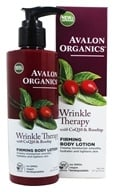Avalon Organics - Wrinkle Therapy Firming Body Lotion - 8 oz. (Formerly Cellular Renewing ...