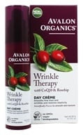 Avalon Organics - CoQ10 Repair Wrinkle Defense Cream Broad Spectrum 15 SPF - 1.75 oz. (Formerly Cellular Renewing Wrinkle Defense Skin Care) - $15.99