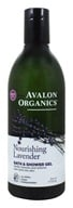 Avalon Organics - Bath & Shower Gel Lavender - 12 oz.