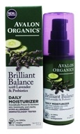 Avalon Organics - Lavender Luminosity Daily Moisturizer Unscented - 2 oz. (Formerly Renewal & Vitality) - $11.37