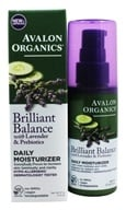 Avalon Organics - Lavender Luminosity Daily Moisturizer Unscented - 2 oz. (Formerly Renewal & Vitality) by Avalon Organics