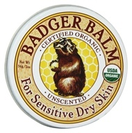 Badger - Healing Balm Unscented - 2 oz. by Badger
