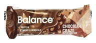 Balance - Nutrition Energy Bar Original Chocolate Craze - 1.76 oz., from category: Nutritional Bars