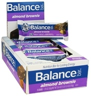 Balance - Nutrition Energy Bar Original Almond Brownie - 1.76 oz. by Balance