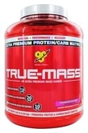 BSN - True-Mass Lean Mass Gainer Strawberry - 5.75 lbs. (834266006502)