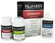 Nu Hair - Hair Regrowth System for Women 30 Day Kit - Formerly by Biotech Labs