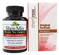 Shen Min - Hair Nutrient Original Formula - 90 Tablets, from category: Nutritional Supplements