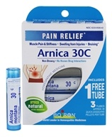 Image of Boiron - Arnica 30c Pain Relief Pellets Buy 2 Get 1 Free Value Pack 3 x 80 Pellets