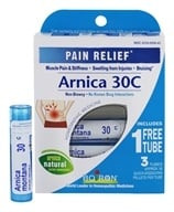 Arnica Homeopathic Medicine for Pain Relief  30 C - 3 Tubes
