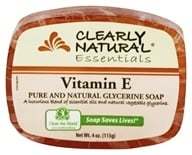 Image of Clearly Natural - Glycerine Soap Bar Vitamin E - 4 oz.