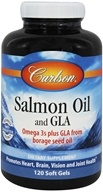 Image of Carlson Labs - Norwegian Salmon Oil and GLA - 120 Softgels