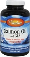 Carlson Labs - Norwegian Salmon Oil and GLA - 120 Softgels, from category: Nutritional Supplements