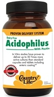 Country Life - Acidophilus with Pectin Dairy-Free - 100 Capsules - $8.99