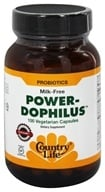 Country Life - Power-Dophilus - 100 Vegetarian Capsules, from category: Nutritional Supplements