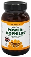Country Life - Power-Dophilus - 100 Vegetarian Capsules - $11.99