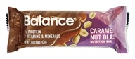 Balance - Nutrition Energy Bar Gold Caramel Nut Blast - 1.76 oz. by Balance