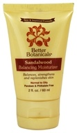 Better Botanicals - Sandalwood Balancing Moisturizer - 2 oz., from category: Personal Care