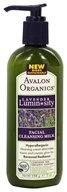 Avalon Organics - Lavender Luminosity Facial Cleansing Milk Unscented - 7 oz. (Formerly Renewal & Vitality), from category: Personal Care