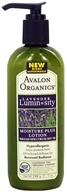 Avalon Organics - Lavender Luminosity Moisture Plus Lotion Broad Spectrum Unscented 15 SPF - 7 oz. (Formerly Renewal & Vitality SPF 18) (654749353202)