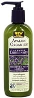 Avalon Organics - Lavender Luminosity Moisture Plus Lotion Broad Spectrum Unscented 15 SPF - 7 oz. (Formerly Renewal & Vitality SPF 18)