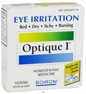 Boiron - Optique 1 Eye Drops for Eye Irritation - 10 Dose(s)