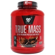 BSN - True-Mass Lean Mass Gainer Chocolate - 5.75 lbs., from category: Sports Nutrition