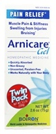 Boiron - Arnicare Arnica Gel Pain Relief 2.6 oz. (75g) Twin Pack - 5.2 oz. (306962800246)