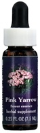 Image of Flower Essence Services - Pink Yarrow Flower Essence - 0.25 oz.