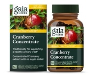 Gaia Herbs - Cranberry Concentrate - 60 Capsules, from category: Nutritional Supplements