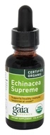 Gaia Herbs - Echinacea Supreme Certified Organic - 1 oz., from category: Herbs