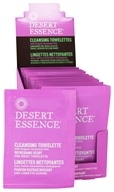 Image of Desert Essence - Cleansing Towelettes With Organically Grown & Wild Crafted Ingredients Refreshing Scent - 1 Towelette(s)