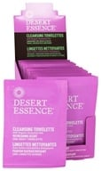 Desert Essence - Cleansing Towelettes With Organically Grown & Wild Crafted Ingredients Refreshing Scent - 1 Towelette(s)