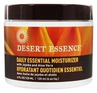 Image of Desert Essence - Daily Essential Moisturizer with Jojoba and Aloe Vera - 4 oz. Formerly Facial Moisturizer